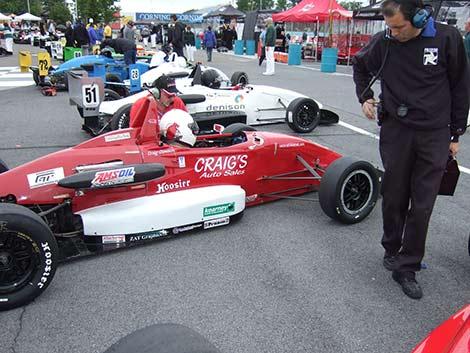 Craig Clawson gridded 8th at the Pro F2000 Championship Series race, Watkins Glen 2011.